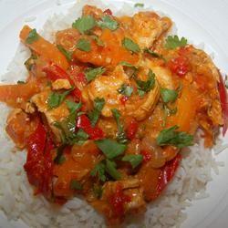 Thai Red Chicken Curry Brendan