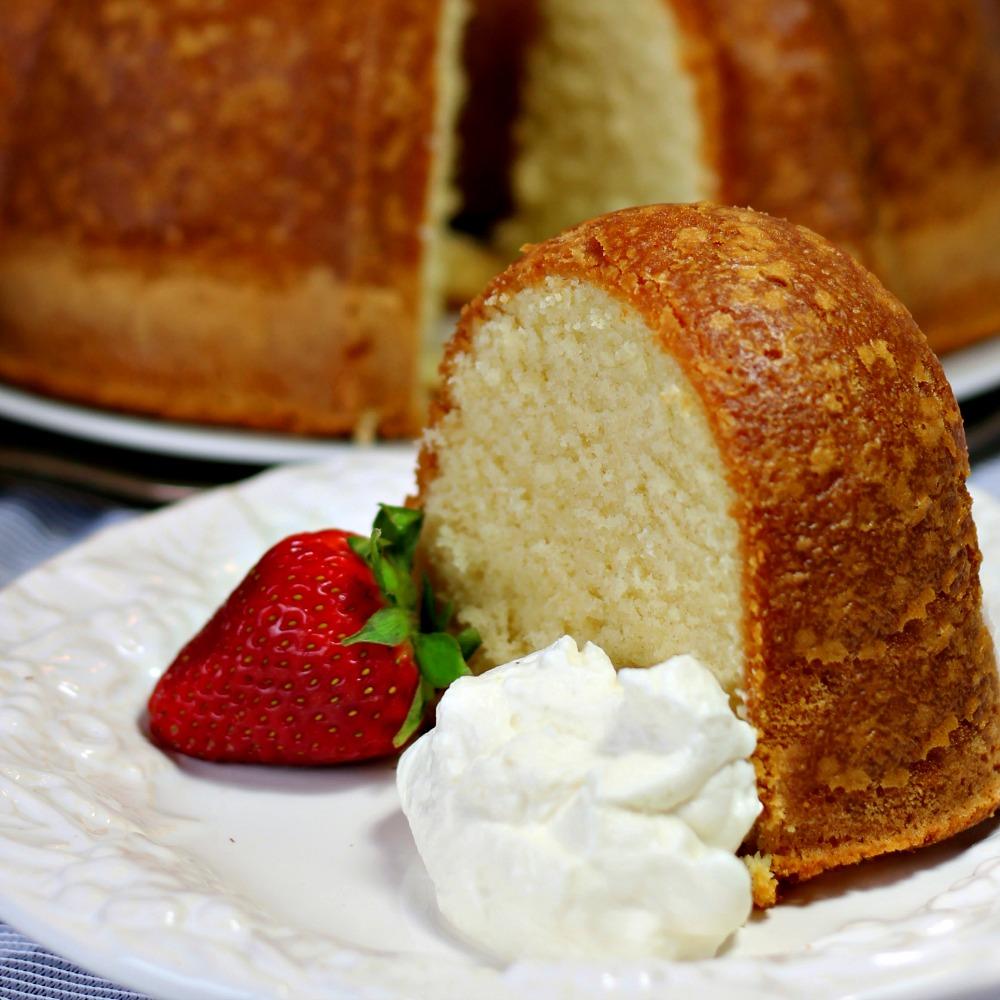Homemade Pound Cake image