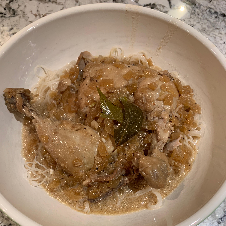 Guinataan Chicken Adobo Tammy