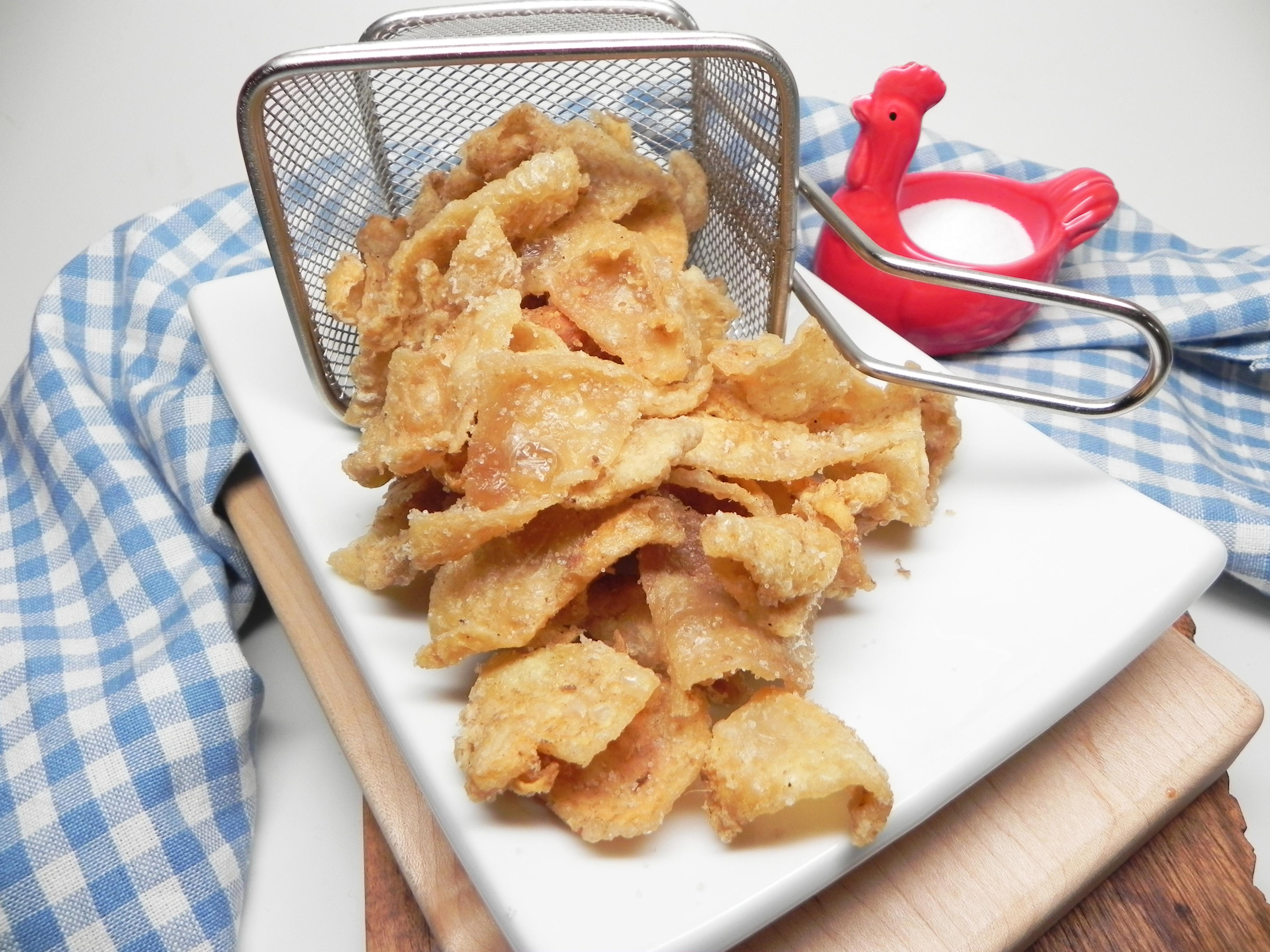 Chicrackling (Fried Chicken Skin)