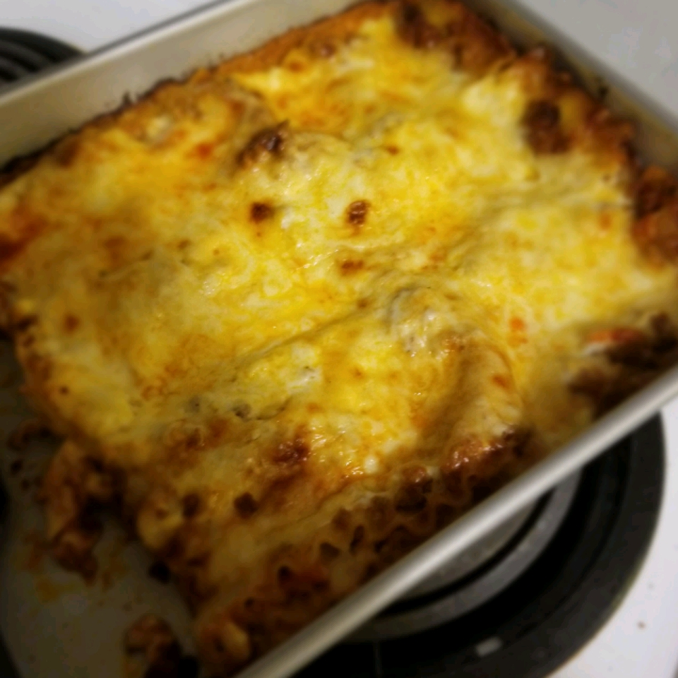Oven-Ready Lasagna with Meat Sauce and Bechamel | Allrecipes