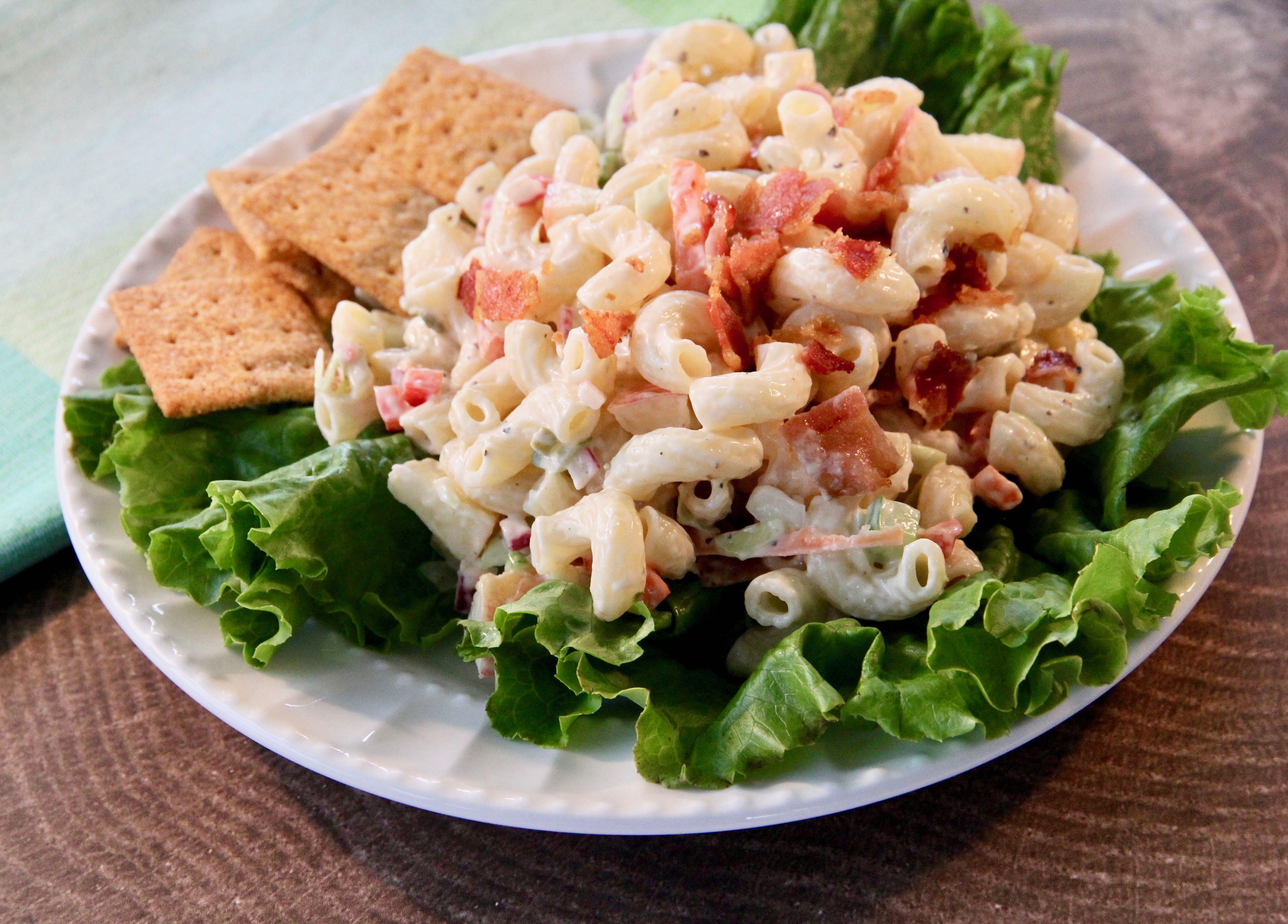 Macaroni Salad with Apples image