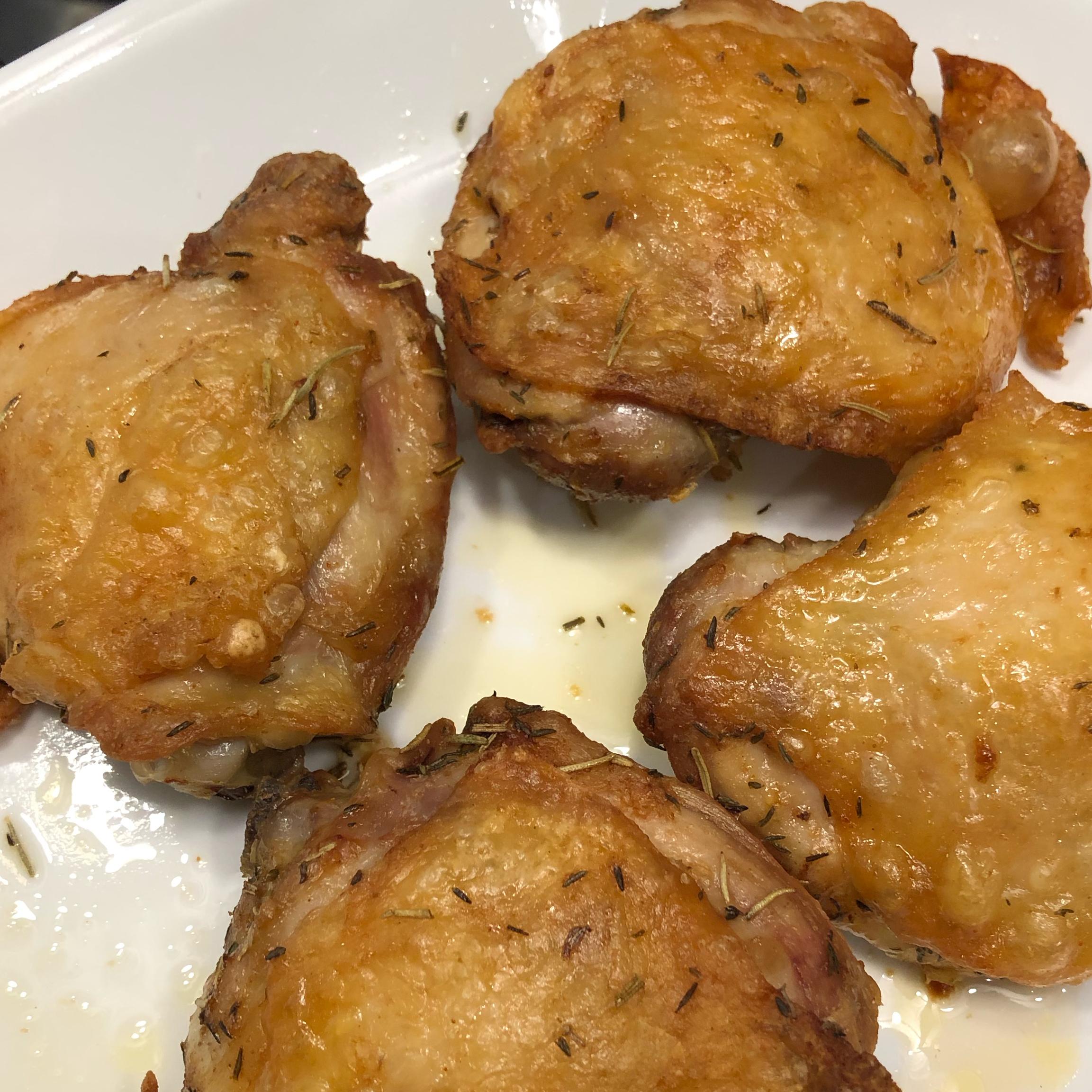 Air Fryer Chicken Thighs Bibi