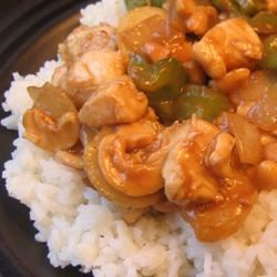 Cashew Chicken with Water Chestnuts Tricia