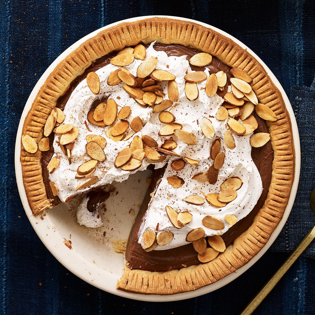 Chocolate Amaretto Pie Recipe