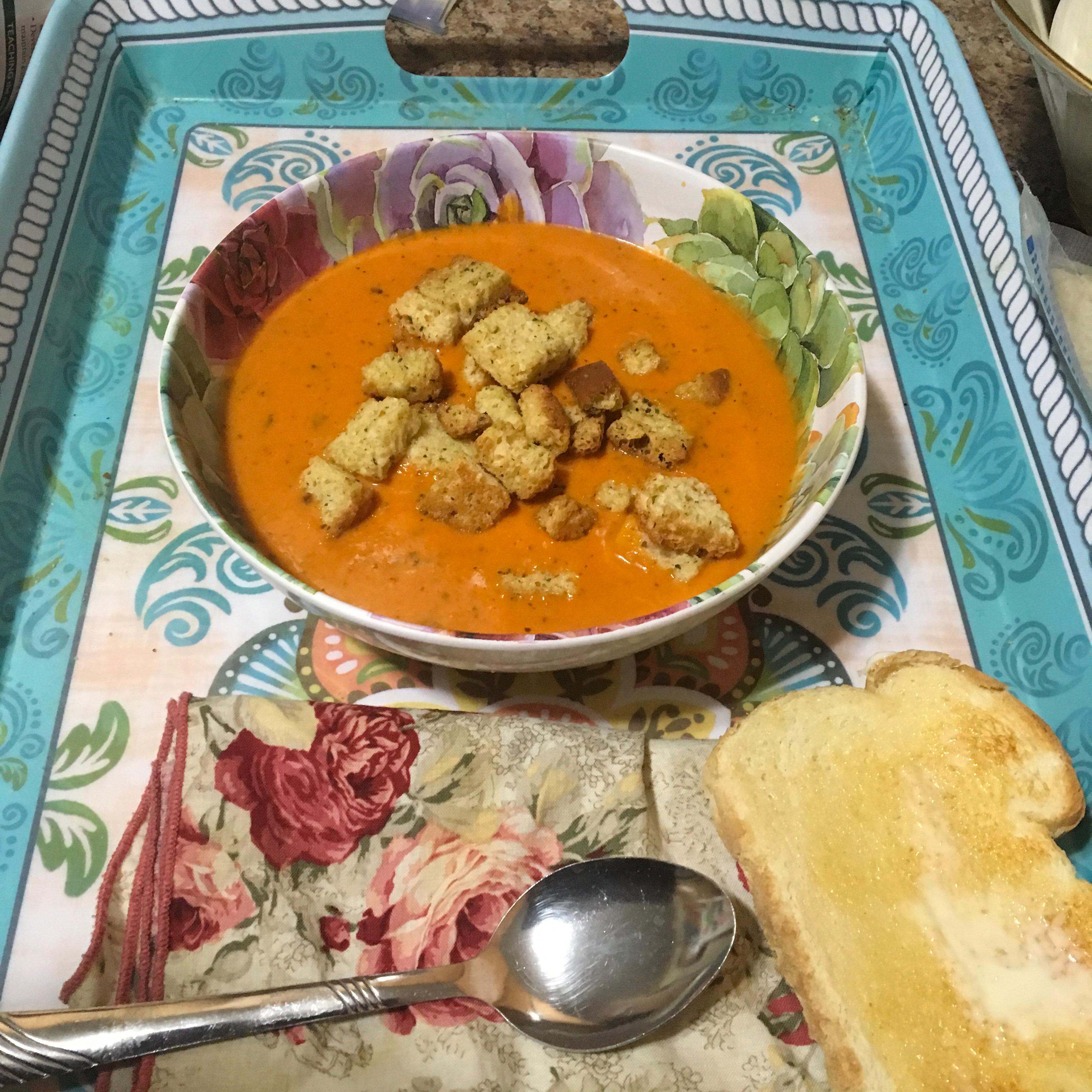 Tomato Basil Soup_image