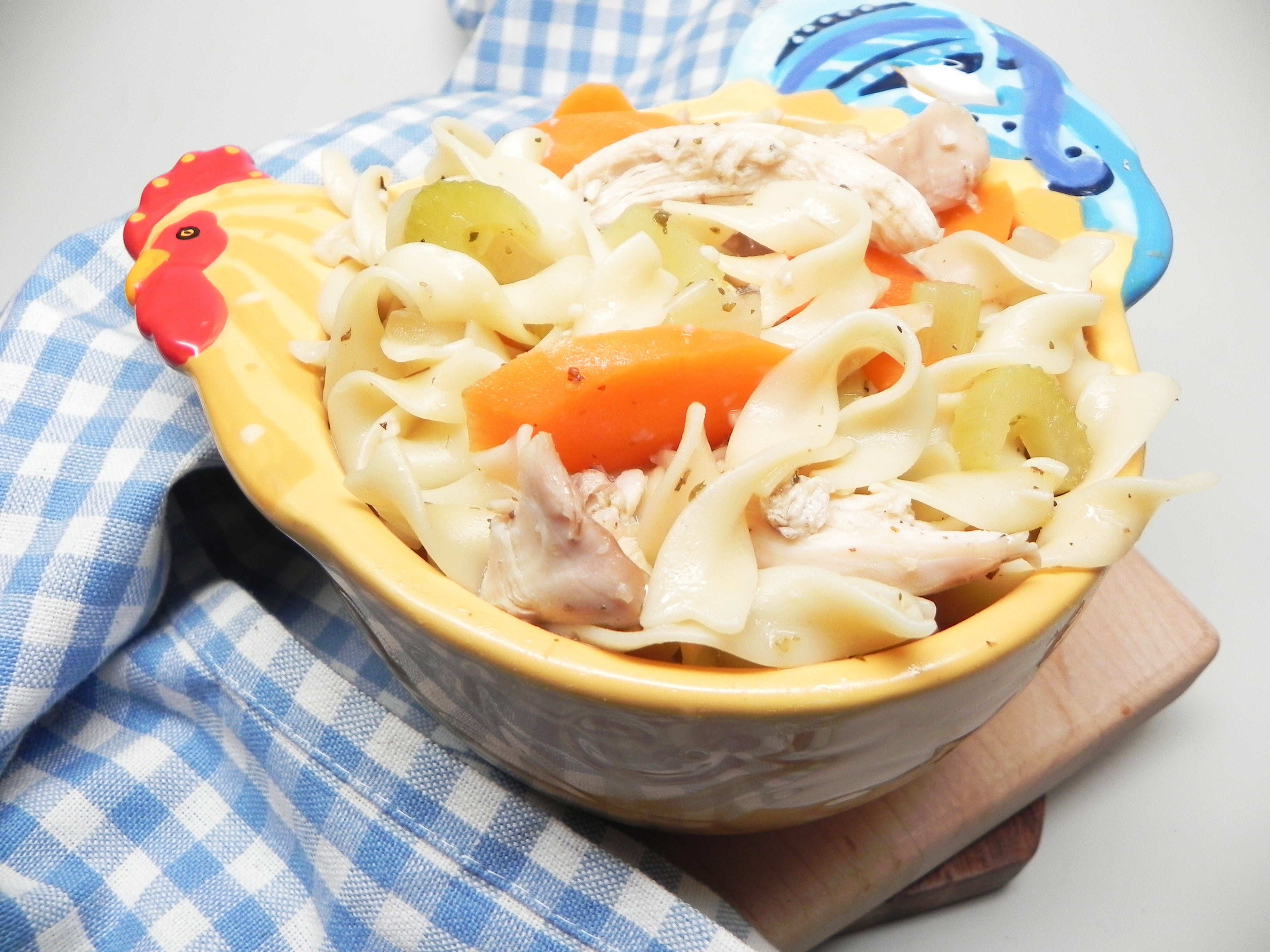 rotisserie chicken noodle soup recipe  allrecipes