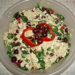Ramen Spinach Pasta Salad Supreme MARBALET