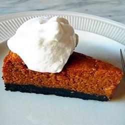 Pumpkin Pie with Greek Yogurt