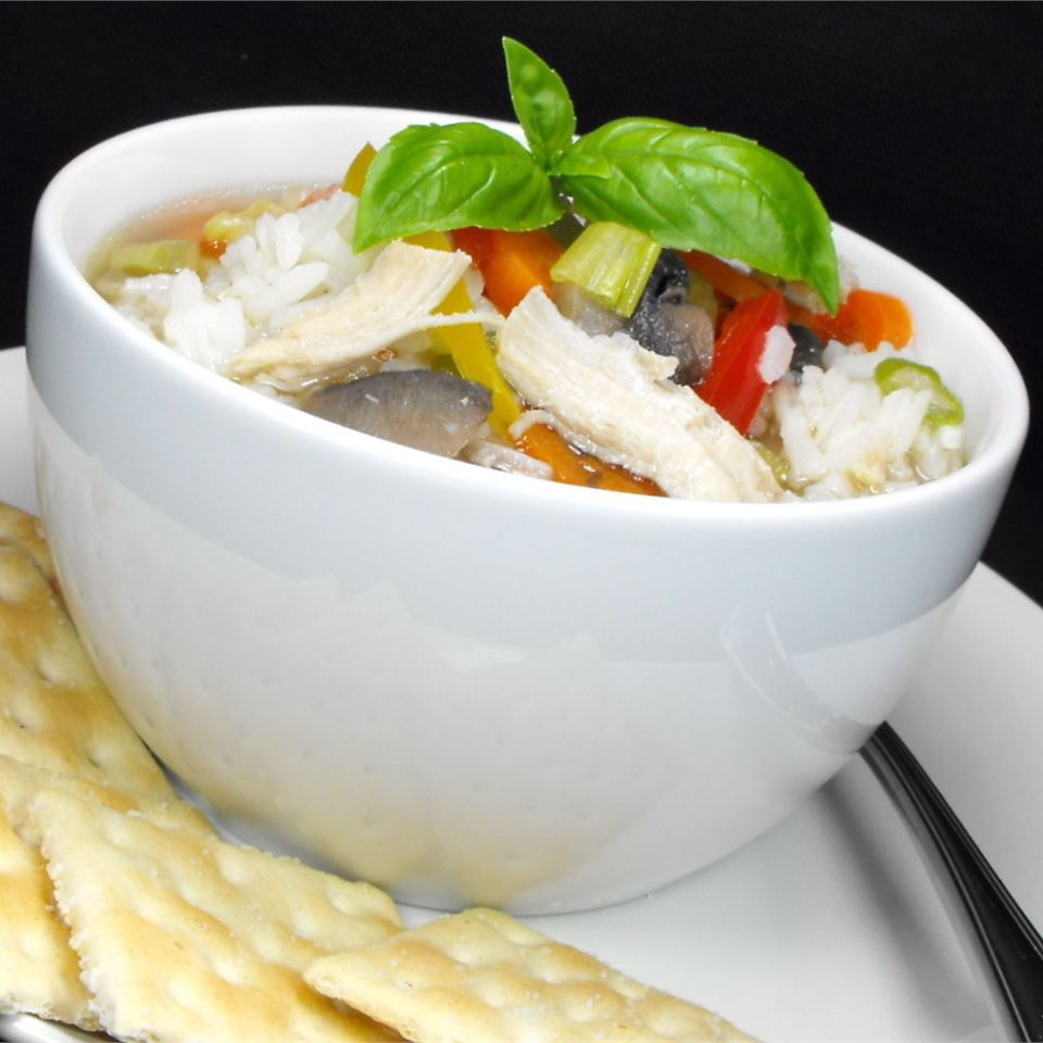 Hearty Chicken Vegetable Soup I