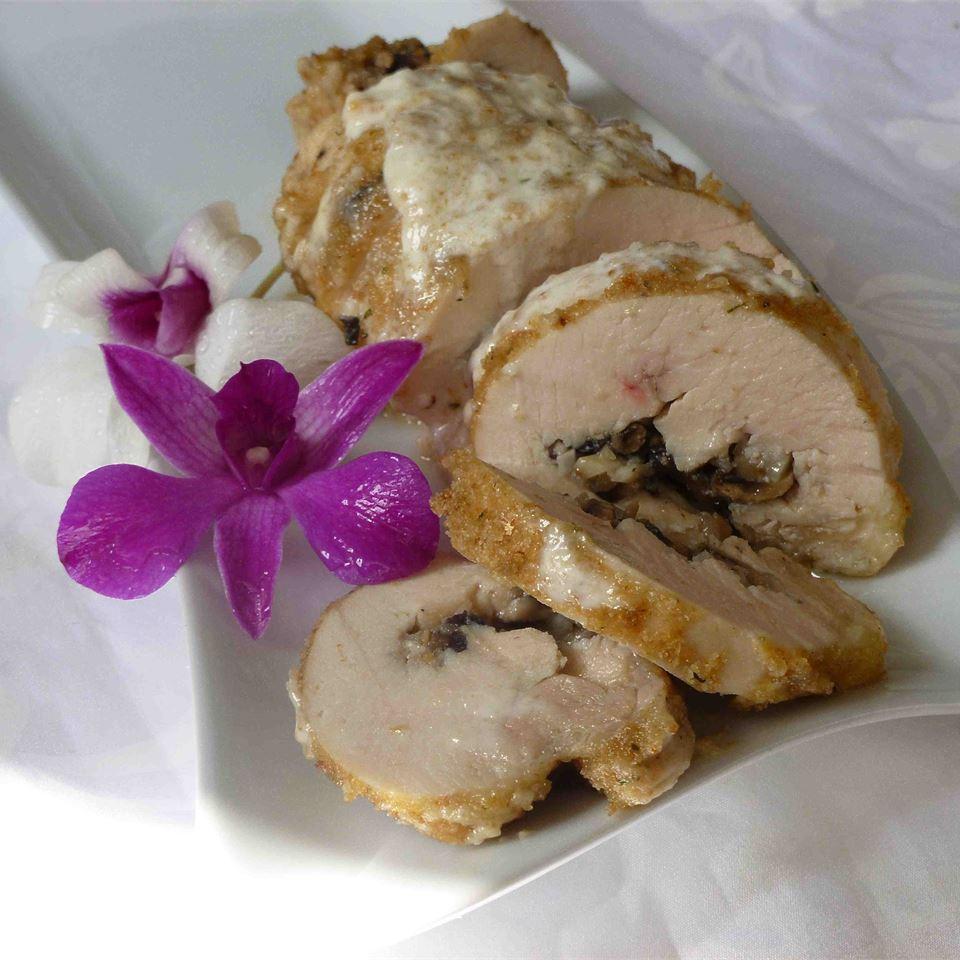 Mushroom Stuffed Chicken Rollups Jennifer