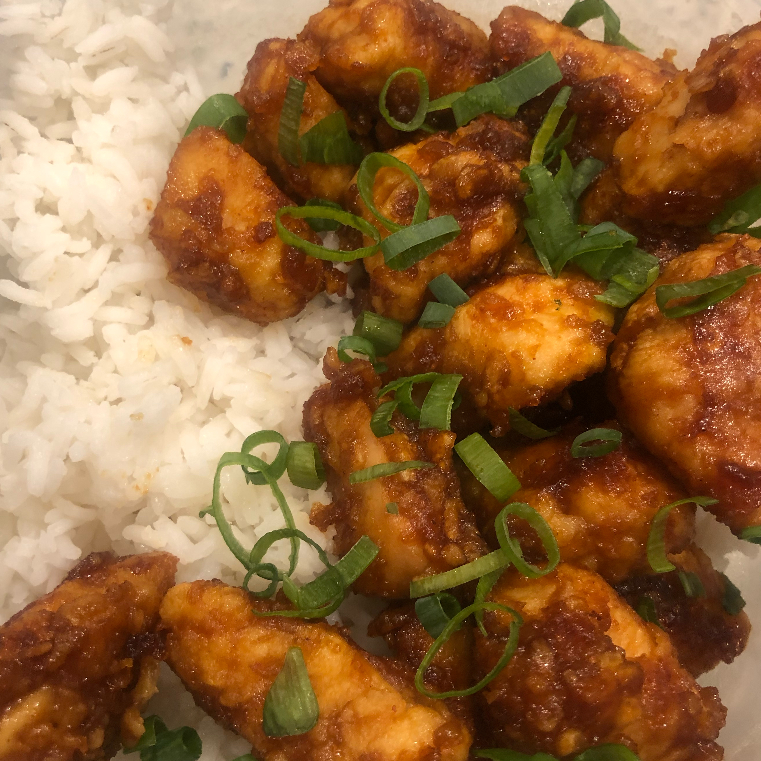 Sweet, Sticky and Spicy Chicken_image