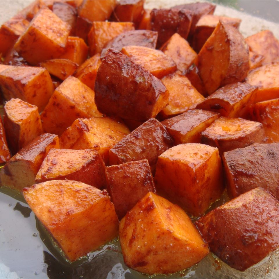 Cinnamon Sweet Potato Slices Recipe Allrecipes