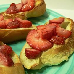 Strawberry Bruschetta Scotdog