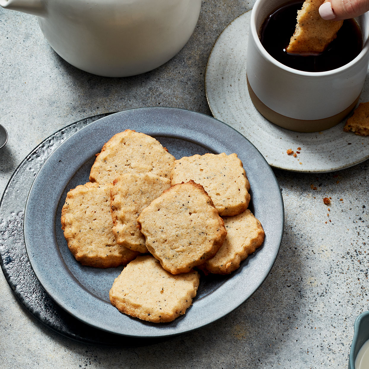 Renowned author and spice aficionado Lior Lev Sercarz loves these French sablé-style cookies so much, he sells a collection of five different flavors twice a year. In this variation, he uses tart amchoor (ground dried green mango) to give them a citrusy brightness. These healthy cookies will get you in the holiday spirit.