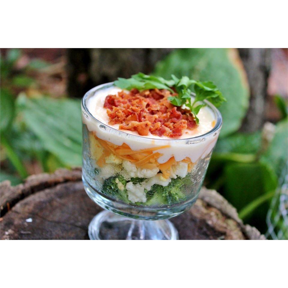 Broccoli-Cauliflower Salad Melissa Goff