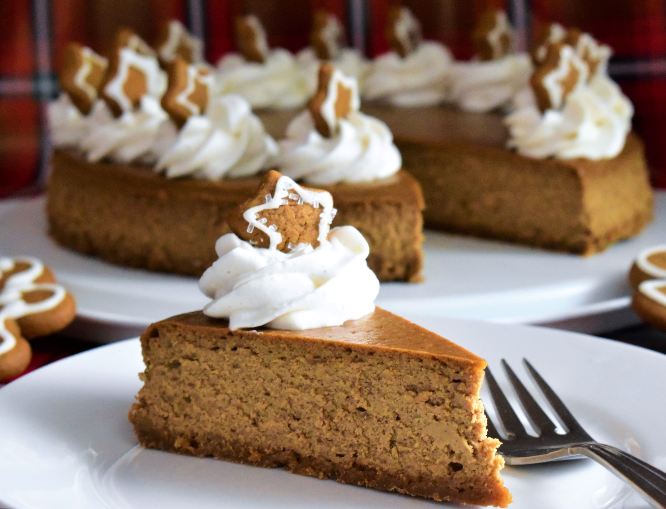 Gingerbread Cheesecake image