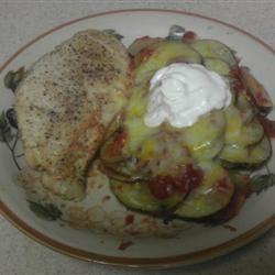 Salsa Chicken and Potato Packets deniseksweet