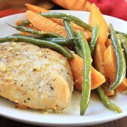Golden Chicken and Autumn Vegetables Campbell's Kitchen