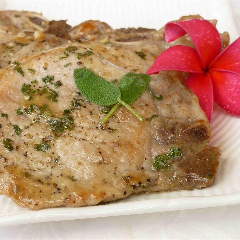 Sage Pork Chops OkinawanPrincess