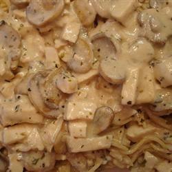 Creamy Mushroom Pasta trask02