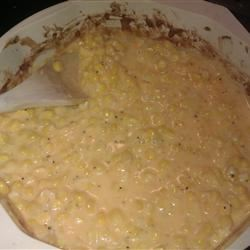 Quick Cheesy Corn
