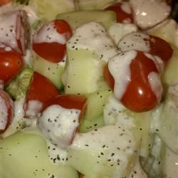 Pepper-Parmesan Dressing image