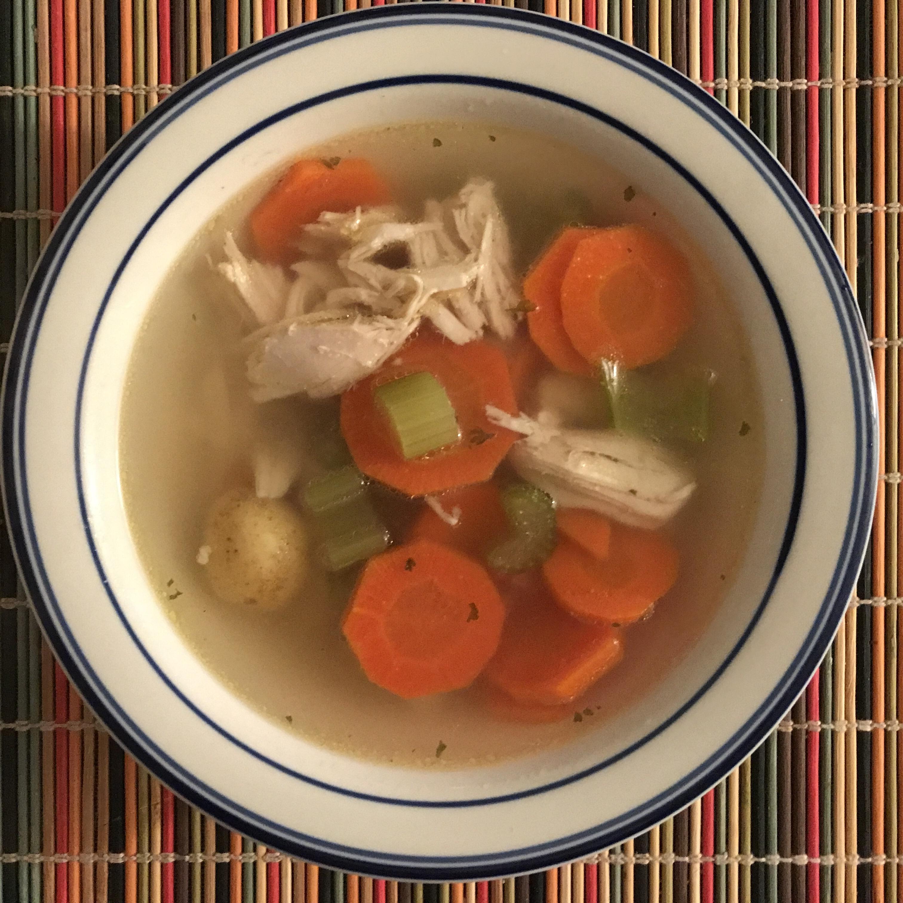 Home Made Chicken Noodle Soup Recipe Allrecipes Com Allrecipes