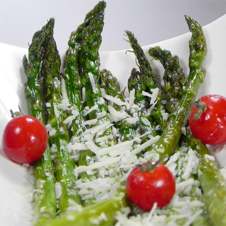 Asparagus Parmesan JenElaine