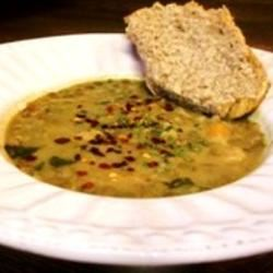 Chicken and Lentil Soup with Homemade Miso Amergin