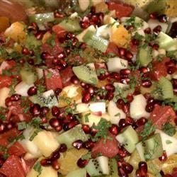 Festive Winter Fruit Salad