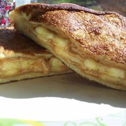 Peanut Butter and Banana French Toast CookinBug
