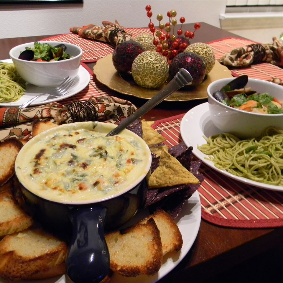 Alaskan Spicy Spinach Dip