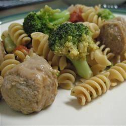 Broccoli and Sausage Cavatelli lillpup