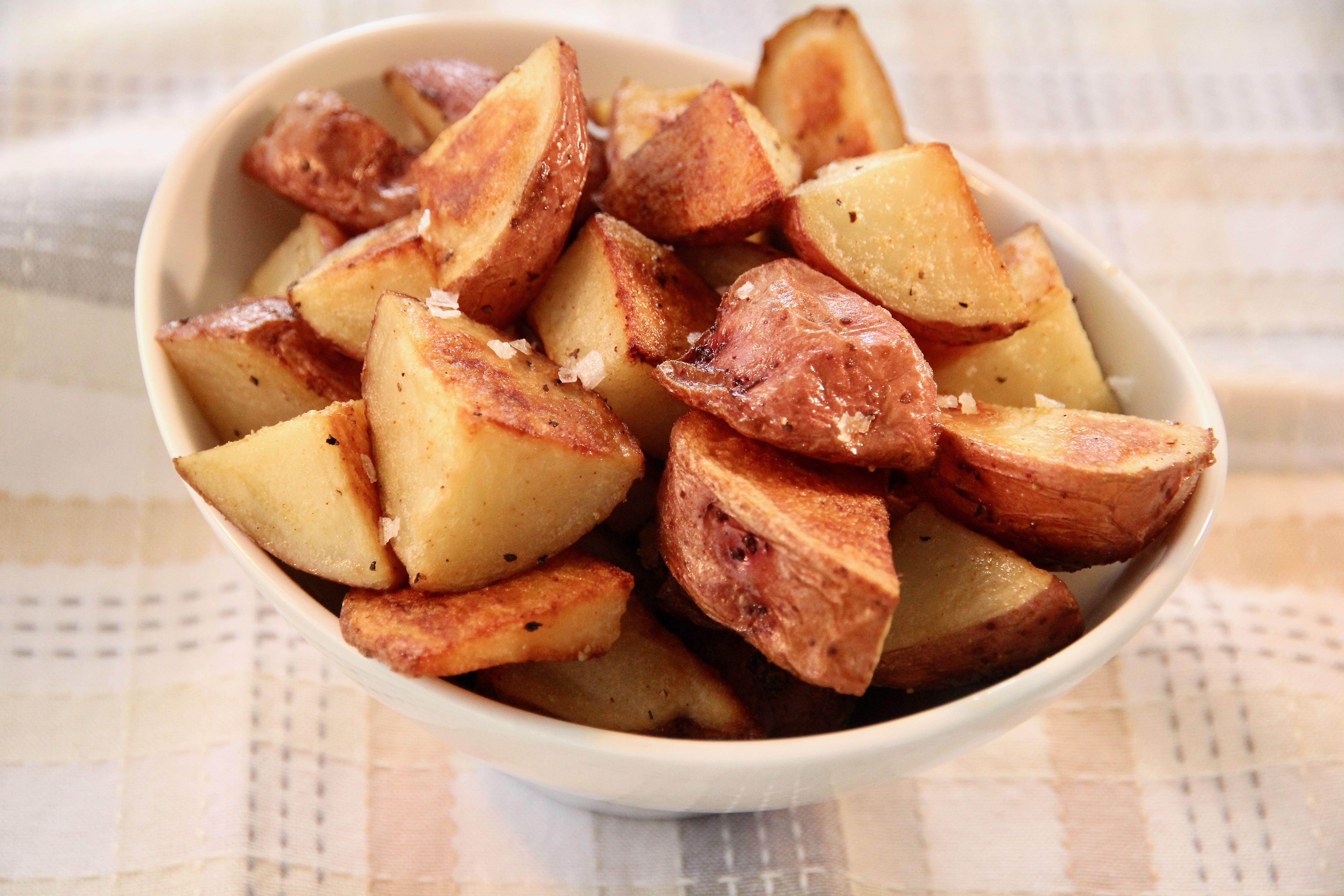 Crispy Roasted Potatoes_image
