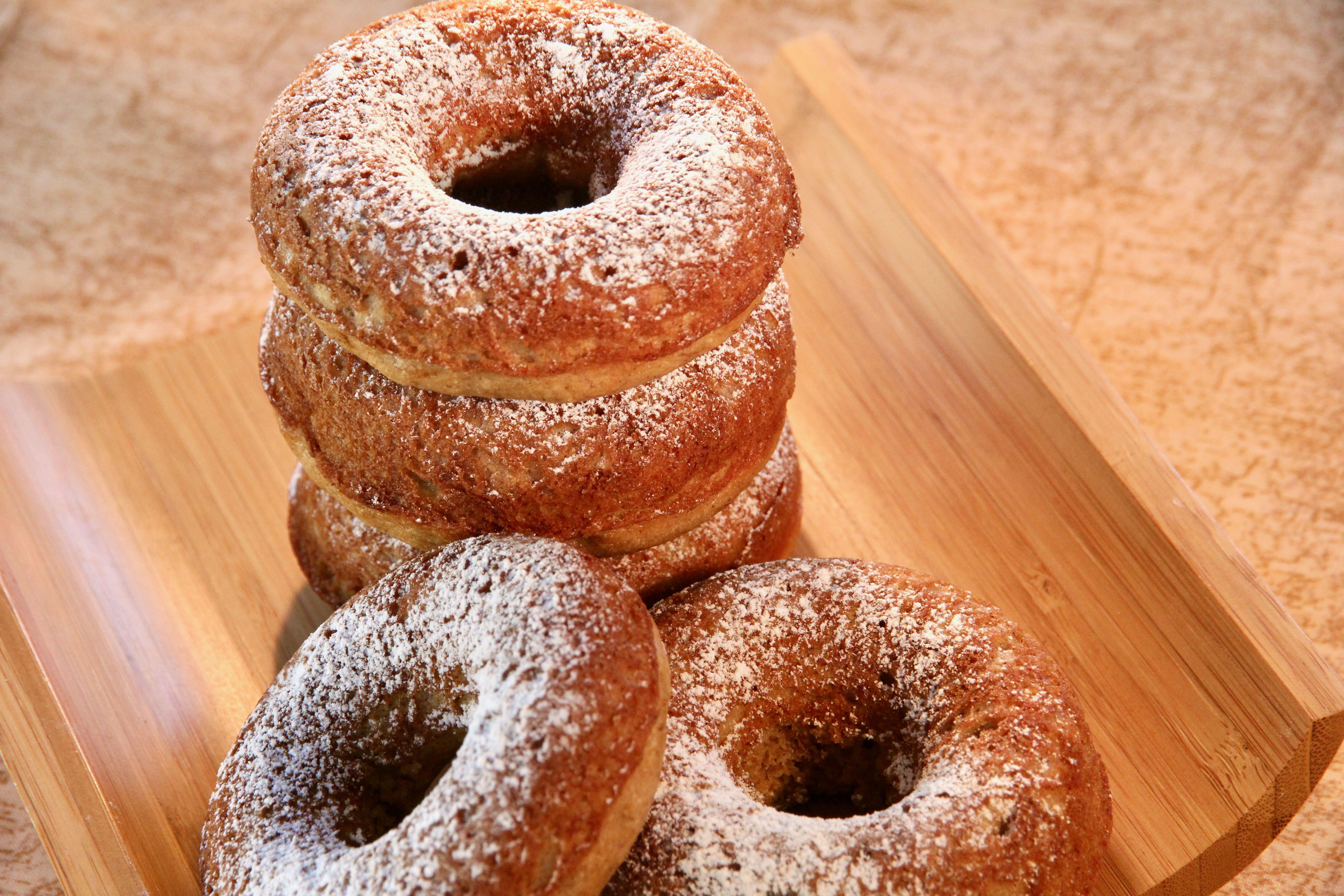 Baked Banana Doughnuts image