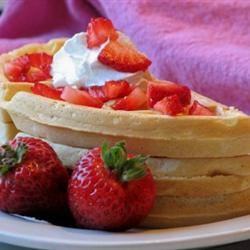 Great Easy Waffles mominml