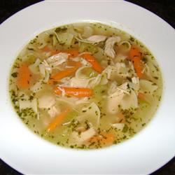 Chicken Soup with Drop-In Noodles Alexis DeMonte