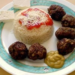 Keftedes - Greek Meatballs