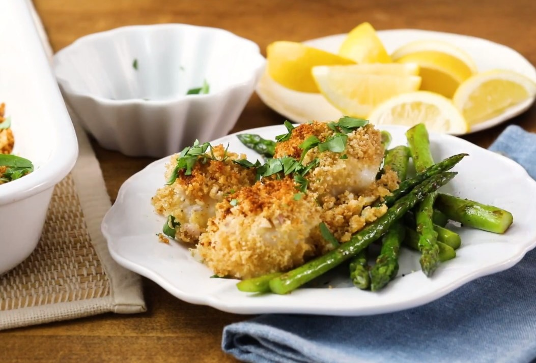 Awesome Baked Sea Scallops_image