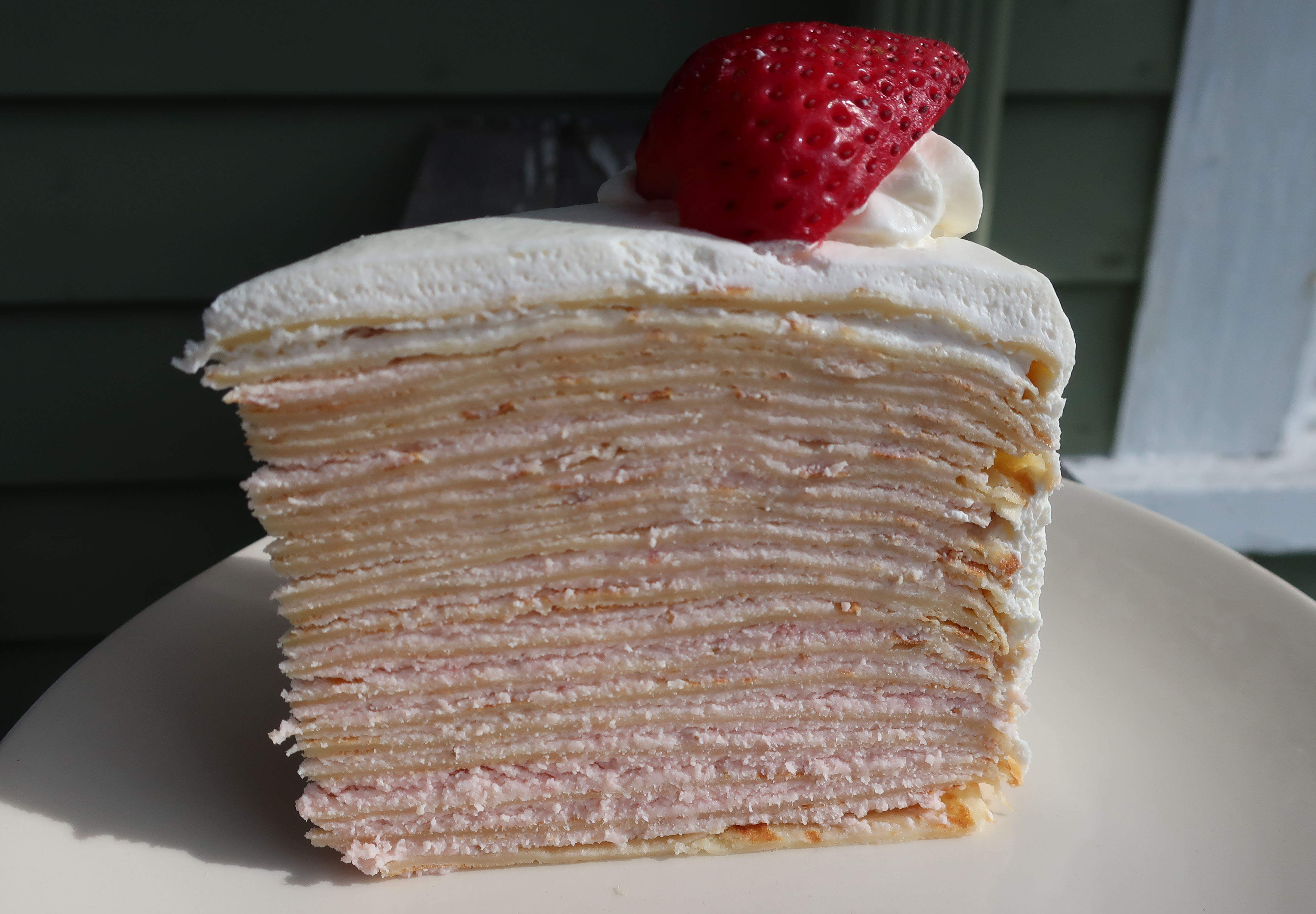 Chef John S Strawberry Crepe Cake Recipe Allrecipes