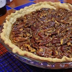 Favorite Bourbon Pecan Pie