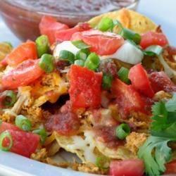 Restaurant Style Chicken Nachos mominml