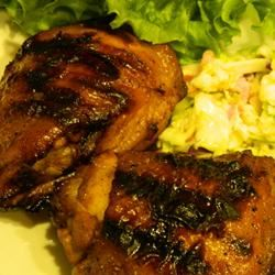 Grilled Chicken with Wilted Slaw Marianne
