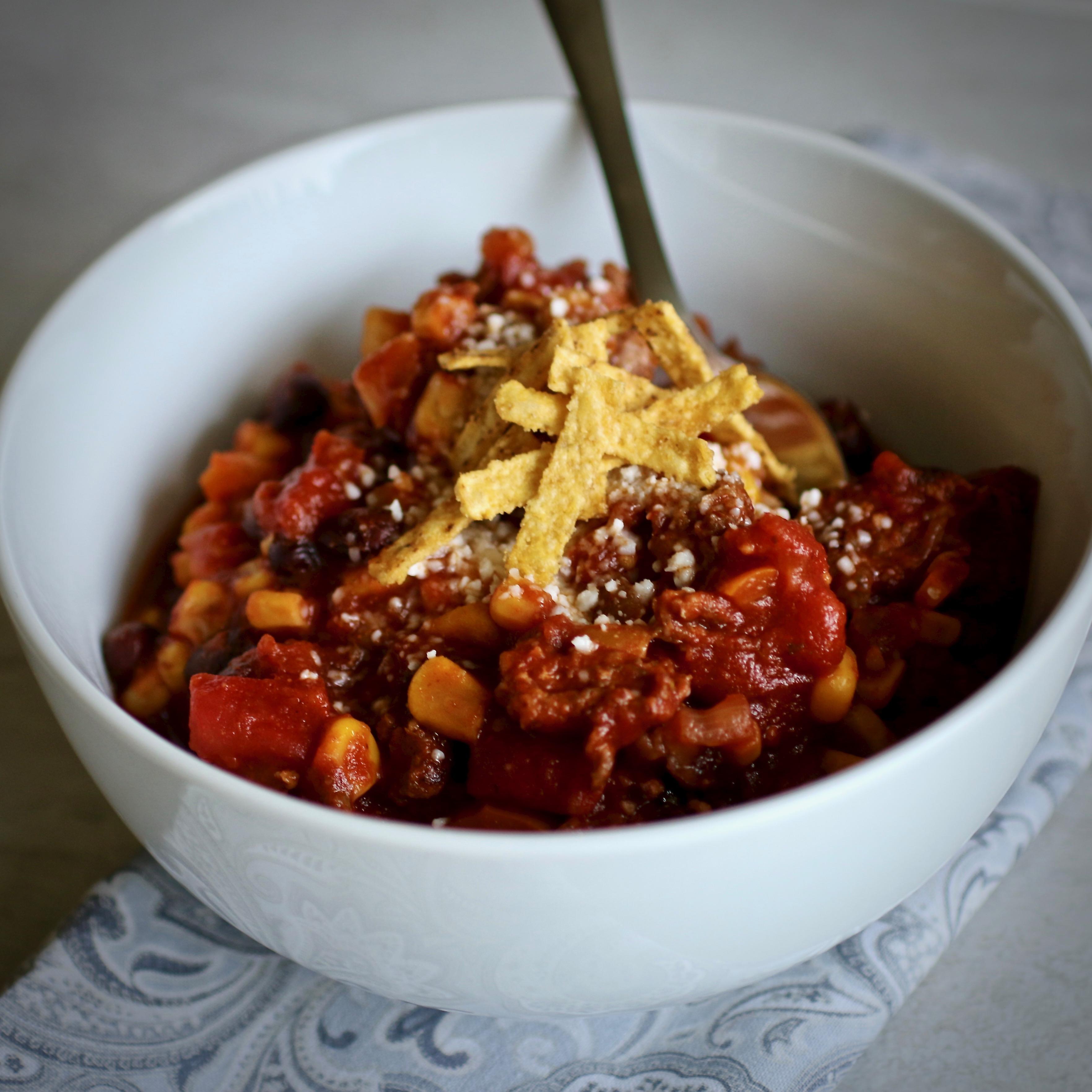Mexican Chorizo Black Bean Chili Recipe Allrecipes