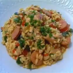 Risotto with Chicken, Sausage and Peppers TheCarl