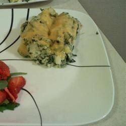 Potato Spinach Casserole Army EOD Wife