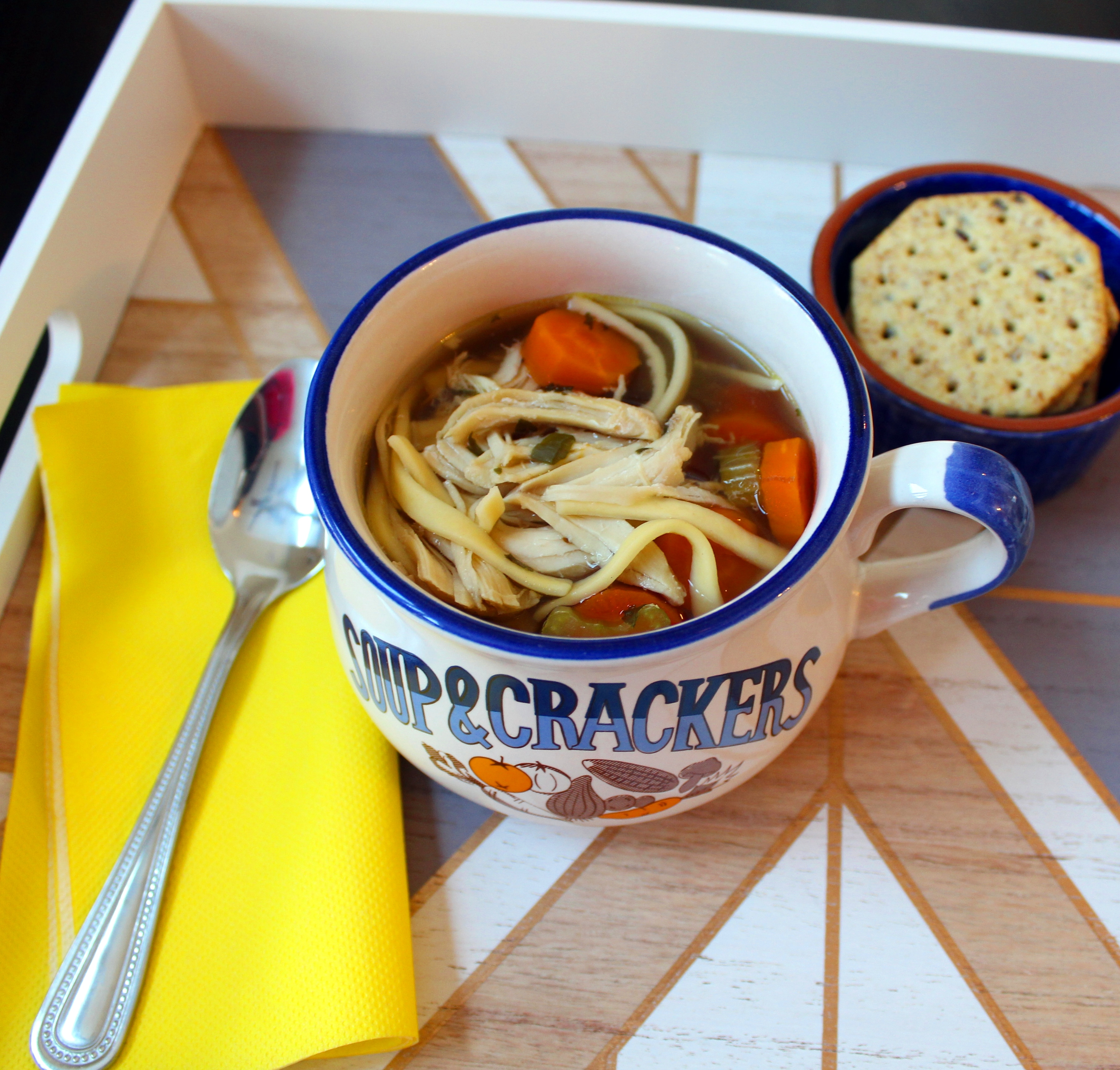 Slow Cooker Chicken Noodle Soup_image
