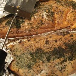 Foil Barbecued Trout with Wine lisandreasings