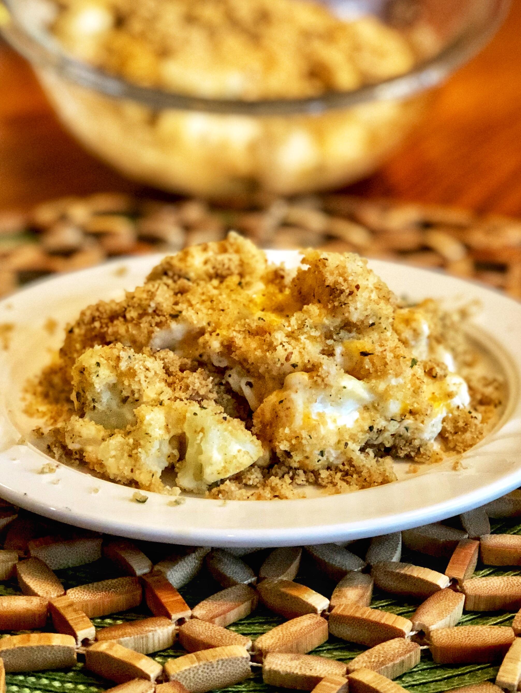 Three-Cheese Cauliflower Casserole_image